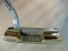 SPECTACULAR HAND POLISHED COBRA MARRIED METAL PUTTER - GP TOUR WRAP GRIP - 34.5""