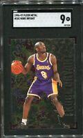 Kobe Bryant Fleer Metal #181 1996-97 RC SGC 9 PSA BGS Lakers Legend Rookie Card