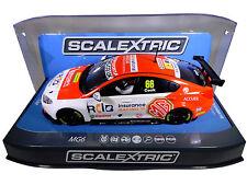 "Scalextric ""RCI"" BTCC MG6 PCR DPR W/ Lights 1/32 Scale Slot Car C3863"