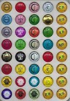 6 séries génériques en relief (39 capsules ) nouvelles  non référencées
