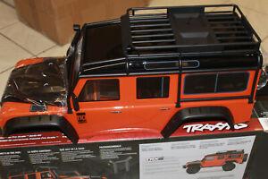 Traxxas 8011A Karo Land Rover Defender Adventure Edition orange TRX NEU in OVP