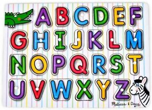 Melissa & Doug - See-Inside Alphabet Peg Puzzle