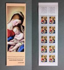 Carnet non plié de 10 timbres France Croix Rouge Salvi Yvert 2051
