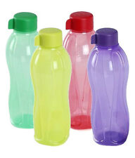 Tupperware Water Bottle 500ml Bottle 4Pc Set