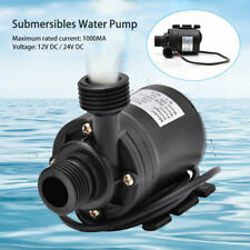 Ultra-leise 12V 800L/H DC 19W Solar Motor Wasser Pumpe Umwälzpumpe Garten Pumpe