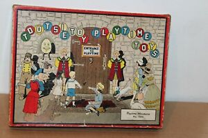 VERY NICE TOOTSIETOY #7005 PLAYTIME MINIATURES SET in BOX