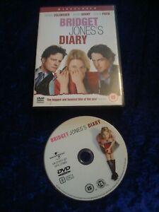 DVD.BRIDGET JONES'S DIARY.CLASSIC COMEDY.ZELLWEGER.GRANT.FIRTH.UK REGION 2.