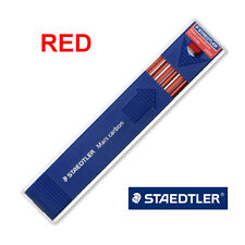 Staedtler Mars carbon 2mm Leads for Leadholder, 2mm Mechanical Pencil : RED