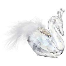 NIB Authentic Swarovski Crystal Christmas Winter Swan Figurine #5069550 MSRP$215