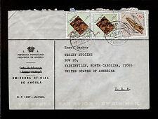 "QSL Envelope ""Radio Clube do Moxico"" Angola 5126 kHz Shortwave SWL DXing 1970"