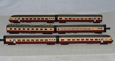 "N Scale KATO K 11045 SBB RAe II ""Gottardo"" TEE Red & Cream Colored 6-Piece Set"