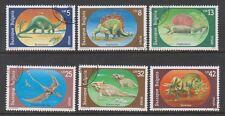 Bulgaria - 1990 Prehistoric Animals set - F/U - SG 3688/93