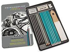 New Prismacolor Premier Graphite Drawing Pencils Eraser Sharpener 18-Piece Set