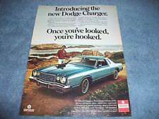 """1976 Dodge Charger Daytona Vintage Ad with Tom Selleck """"Once You've Looked..."""""""