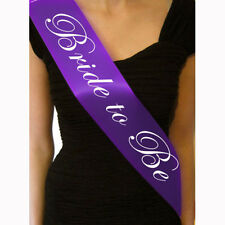 New Hen's Night Sash Party Sashes Do Accessories Bride To Be Out Girl Deluxe CN