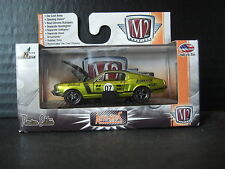 M2 Machines 1968 68 Ford Mustang Flow master Limited 1/64 Diecast S17 Promo
