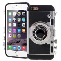 Housse Coque Silicone TPU motif appreil photo pour Apple iPhone 6 Plus/ 6s Plus