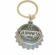 Guinness Cap keyring (silver colour) (sg 2080) - heavy and lovely!