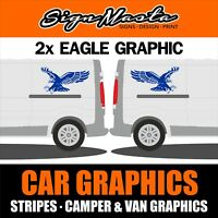 EAGLE GRAPHICS MOTORHOME STICKERS DECALS CAMPER VAN CARAVAN HORSEBOX DUCATO