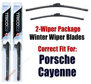 WINTER Wiper Blades 2-Pack - fit 2019+ Porsche Cayenne - 35260/220