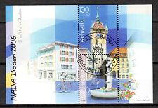 Switzerland - 2006 Stamp expo Naba -  Mi. Bl. 41 VFU