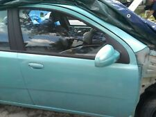 CHEVY AVEO SEDAN Rt Ft Passenger Door Manual window 2004 2005 2006 2007 2008