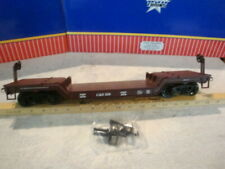 USA Train Colorado Southern Depressed Flatcar LN Metal Wheels Kadee Aristocraft