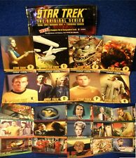 1997 Star Trek Original Series Inserts U-Pick-1 Profiles,Behind scenes,Character