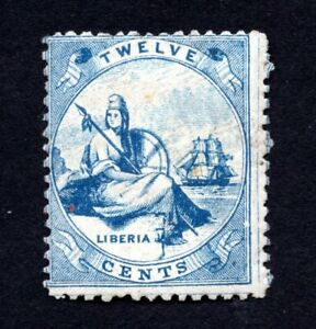 Liberia 1864 stamp Mi#5 MNG CV=100€