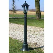 vidaXL Preston Garden Light Post 105cm Dark Green Outdoor Path Standing Lamp