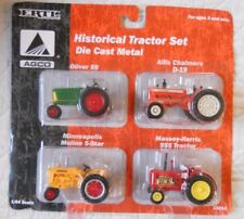 Ertl Farm Country Toy White Historical Tractor Set Oliver MH AC MM 1/64 MIP