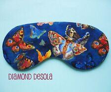 Eye Sleep Mask Butterfly Soft Cotton Travel Blindfold Blackout Gift Relax UK