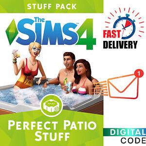 Sims 4 Perfect Patio Stuff - Expansion - PC EA Origin Digital Key - Global
