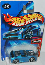 2004 First Editions-tooned furiosity-Blue - 1:64 Hot wheels 063/100