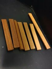 Wild West Lincoln Logs Replacements - 2 Slot x 6 + 3 Slot x 2 Lot of 8 GreatCond