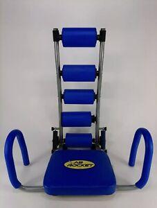 Ab Rocket Abdominal Trainer Light Resistance Bands Workout Exercise Machine