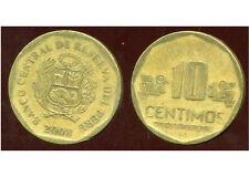 PEROU  10  centimos 2008   ( bis )