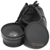 0.45x 52mm Super Wide Angle Macro Lens for Nikon D3000 D3100 D5100 D3200 D90 D80