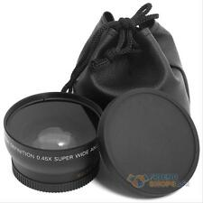 0.45x 52mm Super Gran Angular Macro Lente Para Nikon D3000 D3100 D5100 D3200 D90 D80