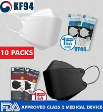 10 Packs KF94 Face Mask Made in Korea Medical Respirator Protective All Keeper