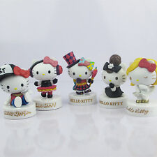 1pcs 8CM Fashion serie Hello kitty Anime action figure collection PVC Toys Gifts