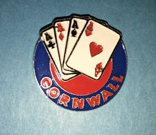 Rare Cornwall Aces AHL Hockey Collectors Lapel Hat Jacket  Pin B