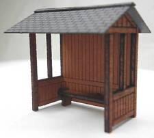 Ancorton Models Wooden Bus Stop - Laser Cut Wood Kit OO Gauge OOBUS2