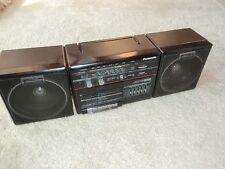 Panasonic KX-C32 tragbarer Radio, Tape spult nicht, sonst ok, abnehmbare Boxen