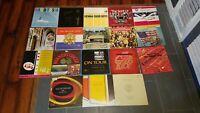 "( 18 ) College, High School, Military Choirs  LP Vinyl Albums. VG+/NM 12"""