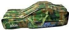 80/2-fach versteift Rutentasche Rutenfutterale Angelrutentasche 200497