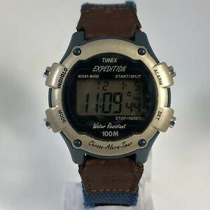 Timex Expedition CR 1620 Womens Alarm Chronograph Timer Quartz Digital Watch