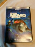 Finding Nemo (DVD, 2003, 2-Disc collectors edition Set). Preowned complete