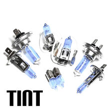 AUDI TT 8n 1.8 h7 h1 h3 h6w 55w Tinta Xenon HID principale/Dip/Nebbia/Laterale Lampadine Set