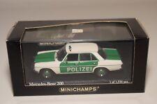 F MINICHAMPS MERCEDES-BENZ 200 POLIZEI GERMAN POLICE MINT BOXED